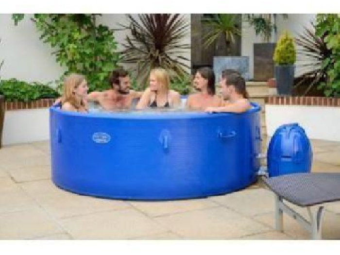Spa semi rigide monaco bleu 6 a 8 places spa jacuzzi - Jacuzzi gonflable occasion ...