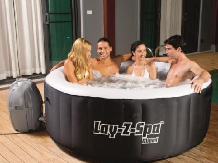 bestway spa rond miami air jet 669l 2 a 4 places spa jacuzzi. Black Bedroom Furniture Sets. Home Design Ideas