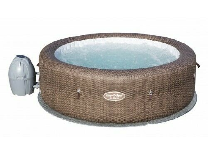 Spa gonflable rond 5/7 places - Lay-Z-Spa - St Moritz Air Jet + Accessoires BES
