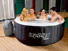Spa Bestway LAY-Z-SPA MIAMI Ø180 x 65cm 4 places noir