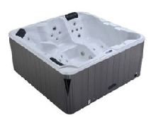 Spa rigide 5 places - 200 x 200 x 95 cm LUXA