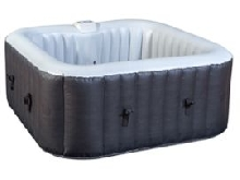 WATER CLIP - Spa gonflable carré 3-4 places 158 x 158 x 65 cm