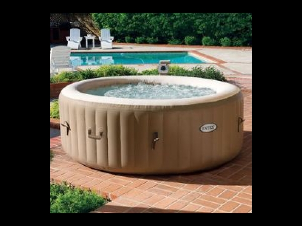 spa gonflable 4 places syst me anti calcaire spa jacuzzi. Black Bedroom Furniture Sets. Home Design Ideas