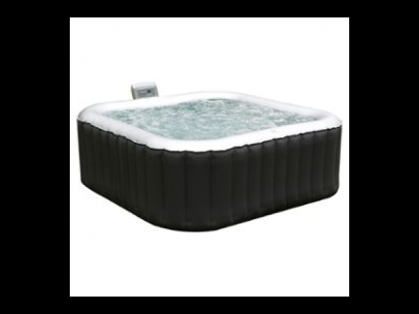 spa carr gonflable 4 places anthracite int rieur gris spa jacuzzi. Black Bedroom Furniture Sets. Home Design Ideas