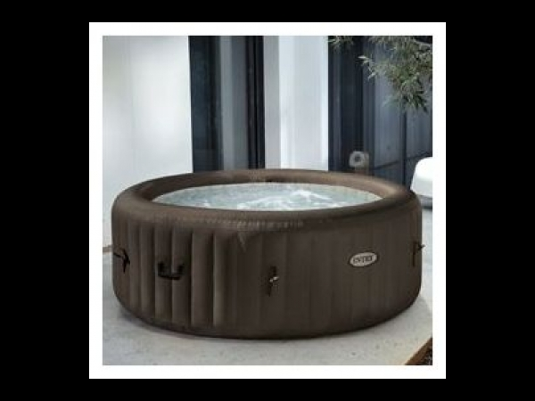 spa gonflable intex purespa jets 4 personnes spa jacuzzi. Black Bedroom Furniture Sets. Home Design Ideas
