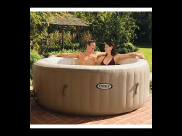 intex purespa spa gonflable avec massage bulles 28404nl 196 x 71 cm spa jacuzzi. Black Bedroom Furniture Sets. Home Design Ideas