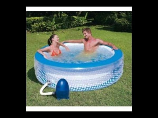 piscine a bulles gonflable pompe a air electrique jacuzzi spa jardin exterieur ou interieur. Black Bedroom Furniture Sets. Home Design Ideas
