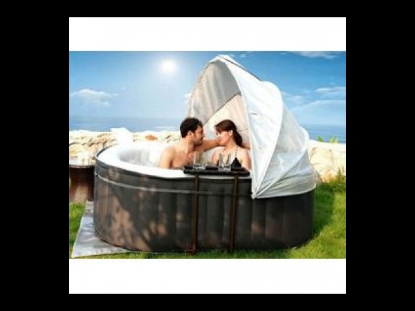spa mspa alpine lite rectangulaire 2 places gris spa jacuzzi. Black Bedroom Furniture Sets. Home Design Ideas