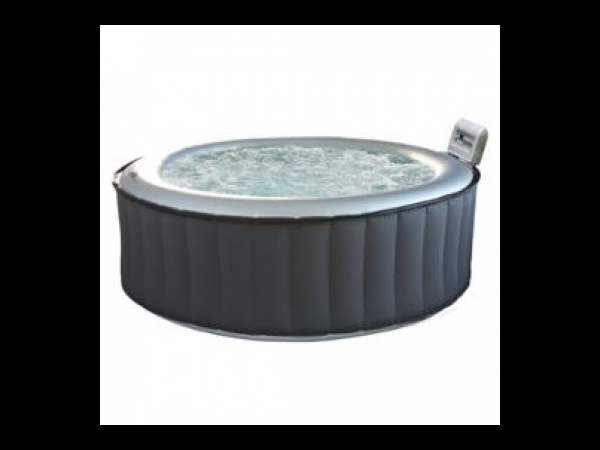 pack spa rond gonflable 6 places anthracite int rieur gris appuie t te spa jacuzzi. Black Bedroom Furniture Sets. Home Design Ideas