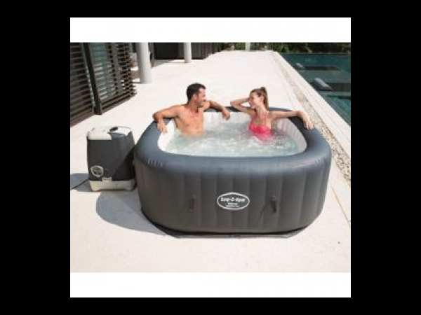 spa gonflable bestway lay z spa hawaii hydrojet pro spa jacuzzi. Black Bedroom Furniture Sets. Home Design Ideas