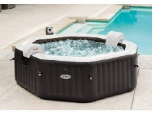 Hydromassage Jacuzzi SPA gonflable Intex 28458 201x71 Jet et Bubble Deluxe