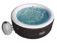 Lay-Z-Spa Spa Rond Gonflable 669 L Piscine Massage Chauffage Baignade Jardin