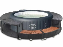 Bestway Spa Gonflable Palm Springs HydroJet Baignade de Jardin Cuve Thermale