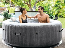 Hydromassage gonflable Intex 28440 Bubble Massage Spa Ronde 196x71