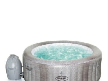 Lay-Z-Spa Cancun AirJet 4 Person Hot Tub