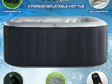 Mspa Alpine Delight D-AL04 2 + 2 Spa Gonflable Jacuzzi bulle Spa Square