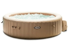 Spa Gonflable Intex Pure Spa Sahara 140 Diffuseurs à Bulles 6 Places