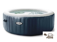 Spa Gonflable Pure Spa Blue Navy Bleu nuit 6 Places 170 Diffuseurs Couvercle