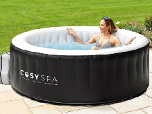 CosySpa Jacuzzi Spa Gonflable | BAIN HYDROMASSANT ? 4/6 Places + 130 Jets d?Air