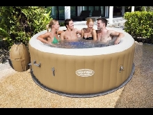Spa gonflable PALM SPRINGS Ø 196 x H 71 cm Bestway pour 4 à 6 personnes