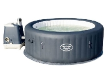 Lay-Z-Spa Spa Rond Gonflable Palm Springs Hydrojet 795 L Baignade de Jardin?