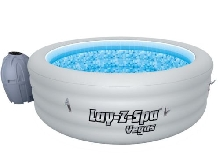Lay-Z-Spa Spa Rond Gonflable Vegas 848 L Baignade de Jardin Cuve Thermale#