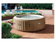 Hydromassage Jacuzzi gonflable Intex  28408 Bubble spa rond 216x71 cm