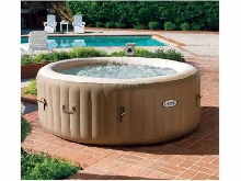Hydromassage Jacuzzi gonflable Intex 28404 Bubble spa rond 196x71