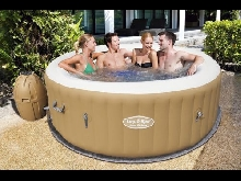 Bestway Lay Z Spa 2016 Vegas Inflatable Portable Hot Tub Jacuzzi 4-6 Person