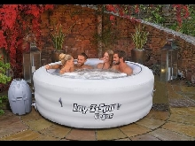 Bestway lay z spa 2016 vegas gonflable portable hot tub jacuzzi 4-6 personne
