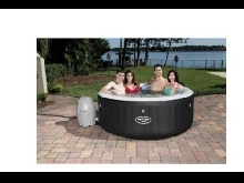 Spa rond Miami Air Jet - 669L - 4 places jacuzzi piscine été sauna hammam 1