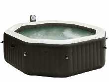 Intex Spa PureSpa Jet&Bubble Deluxe Gonflable Terrasse Patio Jardin Baignoire
