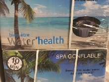 water health spa gonflable 4 places palacio